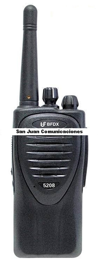 Radio Portatil BFDX Modelo FB 5208